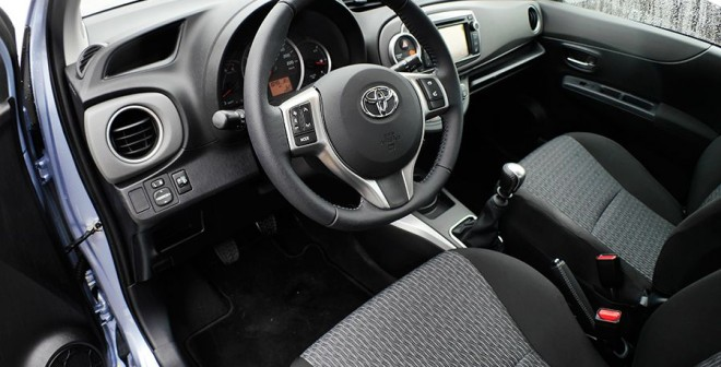 Prueba Toyota Yaris diésel 1.4D-4D 90 CV, interior, Rubén Fidalgo