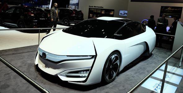 Honda FCEV Concept, en el Salón de Ginebra