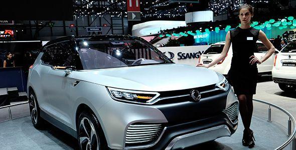 SsangYong XLV Concept, listo para Ginebra