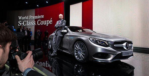 Mercedes Clase S Coupe, en el Salón de Ginebra