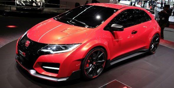 Honda Civic Type R Concept, todas las imágenes
