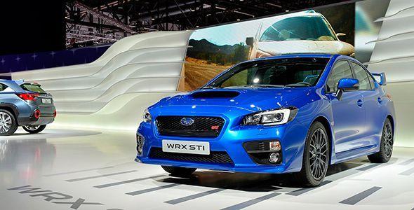 Los nuevos Subaru WRX STI y VIZIV 2 Concept, primicias en Ginebra 2014