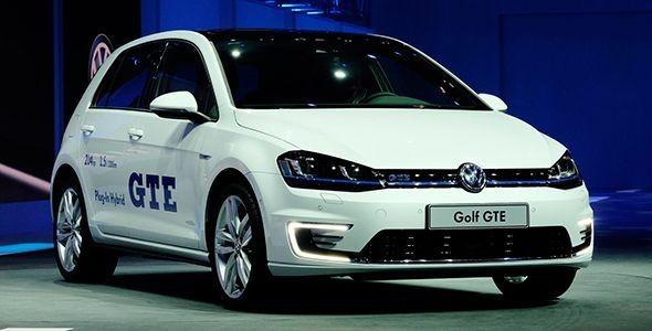 Nuevo VW Golf GTE: el GTi híbrido en Ginebra 2014
