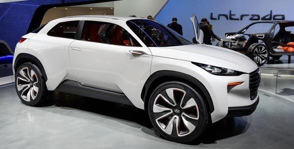 El Hyundai Intrado Concept se presenta en el Salón de Ginebra 2014
