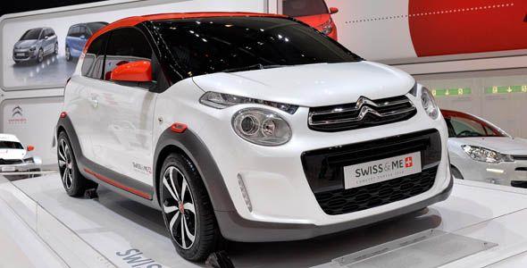 Citroën C1 Swiss & Me, un urbano muy patriótico