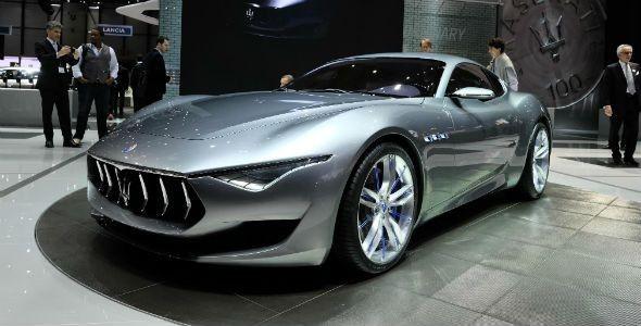 Maserati Alfieri Concept, 460 CV desde Ginebra