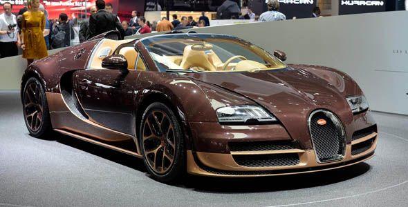 Bugatti Veyron Rembrandt Bugatti: 2,18 millones de euros