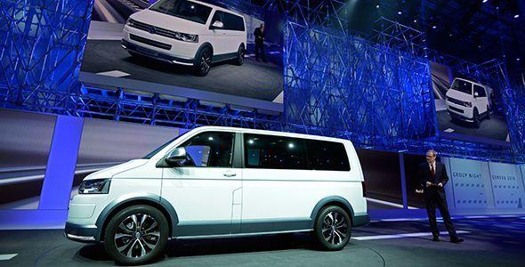 Nuevo VW Multivan Alltrack Concept en el Salón de Ginebra 2014