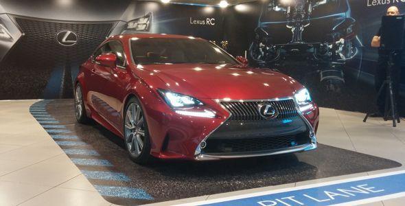 Lexus RC: presentación oficial en España