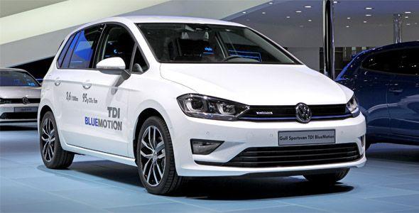 Volkswagen Golf Sportsvan Bluemotion: solo 3,6 l/100 km