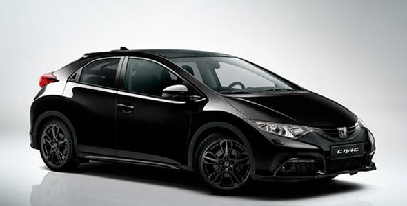 Honda Civic Black Edition: nueva serie especial