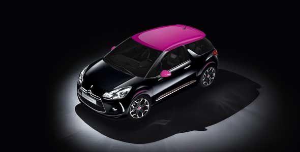 Citroën DS3 Dark Rose
