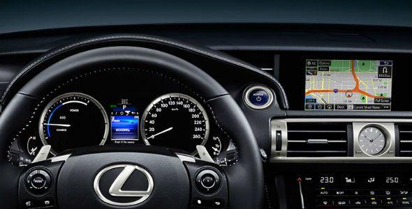 Lexus Navibox, para toda la gama IS
