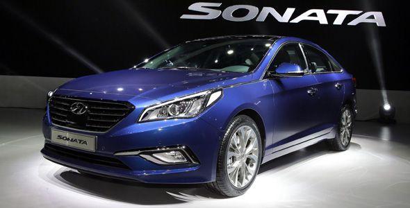 Hyundai Sonata 2015: estreno mundial de la nueva generación