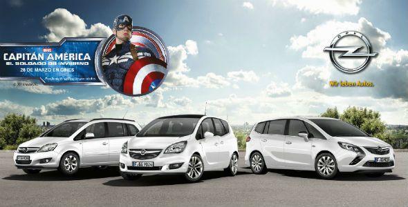 El Capitán América ficha por Opel