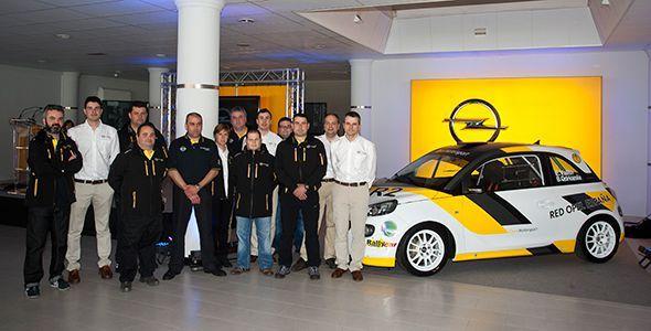 Nuevo equipo oficial Opel Adam R2 de Red Opel España