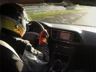 Vídeo: Seat León Cupra, récord en Nürburgring