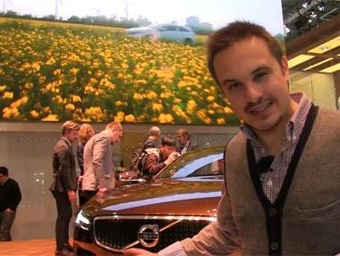 Vídeo: Volvo Concept Estate en el Salón de Ginebra