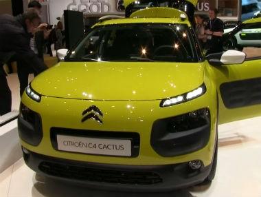 Vídeo: Citroën C4 Cactus en el Salón de Ginebra 2014