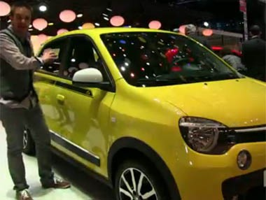 Vídeo: Renault Twingo en el Salón de Ginebra