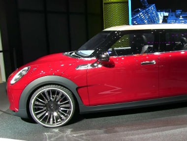 El Mini Clubman Concept, en el Salón de Ginebra 2014