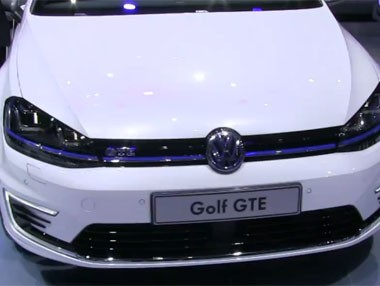Vídeo: Volkswagen Golf GTE en el Salón de Ginebra