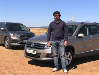 Vídeo prueba: Honda CR-V vs. Volkswagen Tiguan