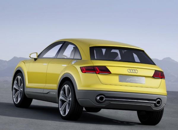 El parecido de este Offroad Concept con el Audi TT original es más que evidente.