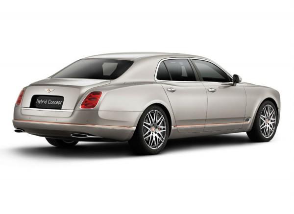 La tecnología híbrida de Bentley se presenta en uno de sus modelos más representativos, el Mulsanne.