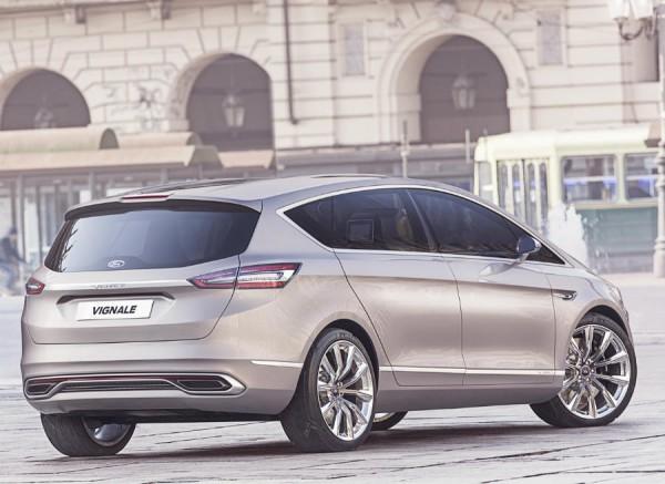 El aspecto del Ford S-Max Vignale Concept da un paso adelante en lo que a este tipo de coches se refiere.