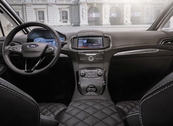 Interior del Ford S-Max Vignale Concept.