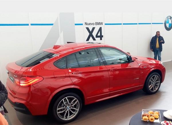 Presentación BMW X4 Madrid 2014