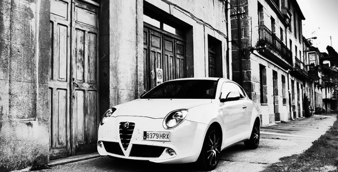 Prueba Alfa Romeo MiTo Quadrifoglio Verde diésel 120 CV, Os Peares, Rubén Fidalgo