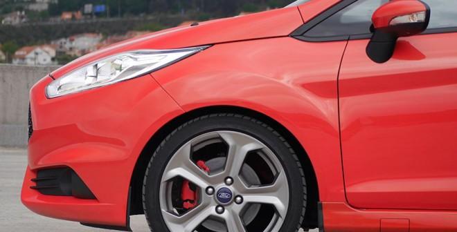 Prueba Ford Fiesta ST 2014, llantas, Rubén Fidalgo