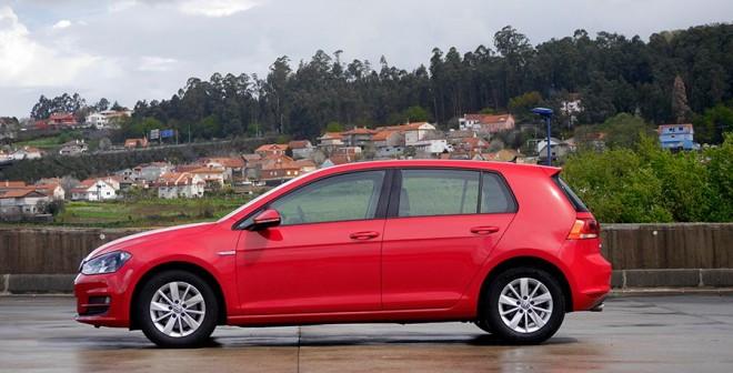 Prueba VW Golf 1.6 TDi Bluemotion, Vigo, Rubén Fidalgo