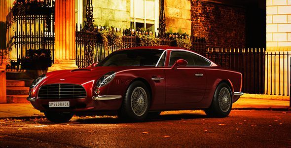 David Brown Speedback GT: vuelve el DB5