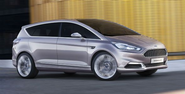 Ford S-Max Vignale Concept: diseño Premium