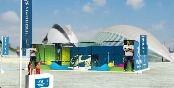 Hyundai recorrerá 58 ciudades españolas para promocionar el Mundial de Fútbol de Brasil