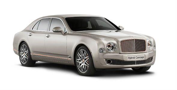 Bentley Mulsanne, ahora híbrido enchufable
