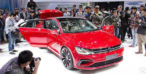 Volkswagen presenta 4 primicias mundiales en el Salón de Pekín