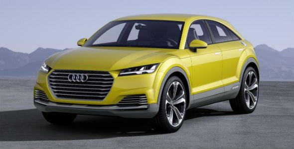 Audi TT Offroad Concept, el SUV más deportivo