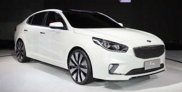 Kia K4 Concept, presentado en el Salón de Pekín