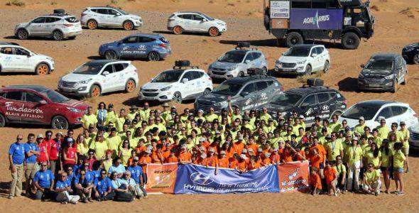 Hyundai y El Desierto de los Niños: éxito rotundo