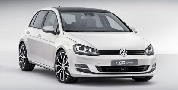 Volkswagen Golf Edition para celebrar los 40 años