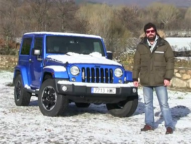 Vídeo prueba Jeep Wrangler Polar