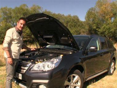 Vídeo prueba: Subaru Outback 2.0 TD Lineartronic