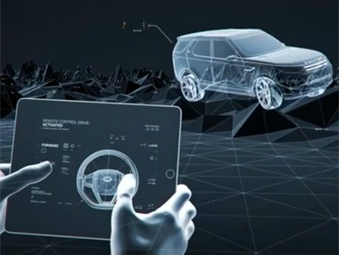 Vídeo: control remoto Land Rover Discovery Vision Concept