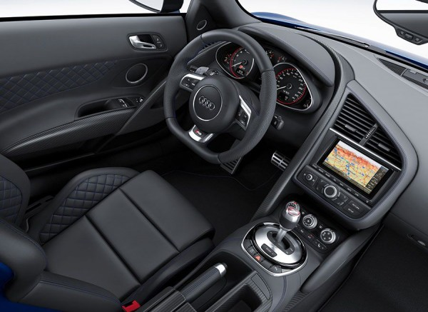 Audi R8 LMX faros láser 2014