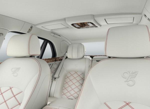 Bentley cumple 95 años y lo celebra con una edición especial del Mulsanne.