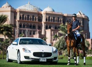 Maserati Centennial Polo Tour.